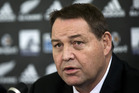All Blacks coach Steve Hansen will announce his latest squad to face Wales on Sunday. Photo / Jason Oxenham