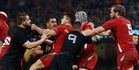 Wales and the All Blacks clash in three tests next month. Photo / Getty