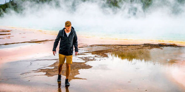 Loading Hamish McNab Campbell Cross has been reprimanded for breaking Yellowstone Park rules.