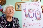 Irene More will be turning 100-year-old this Saturday. Photo/George Novak