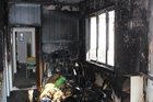 RECALL: A faulty dehumidifier is believed to have caught fire inside this Melville, Hamilton, home earlier this month. Fortunately, the house was equipped with smoke alarms and the mother and her three children escaped unscathed.