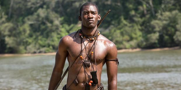 Malachi Kirby as Kunta Kinte in History's Roots. Photo / History Channel