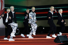 The South Korean sextet B.A.P are to perform at 7pm tonight at the Trusts Arena. Photo / AP