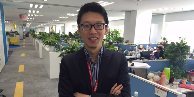 Prospects for e-commerce are strong, says JD Worldwide's Tony Qiu. Photo / Christopher Adams