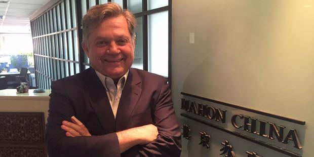 David Mahon, chairman of Mahon China. Photo / Christopher Adams