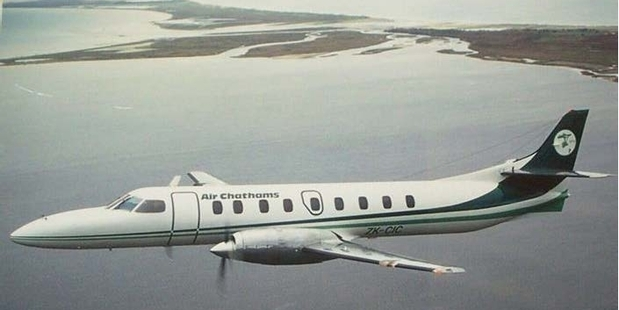 NEW CARRIER: The Air Chathams Metroliner that will fly between Auckland and Whanganui from August. PHOTO/ SUPPLIED