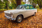 A 1963 Humber 90, being sold to raise funds for Wanganui Cancer Society. Photo / SD Art / Sharad Dohare