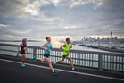 This year there are nearly 30 charities runners in the Auckland Marathon can fundraise for. Photo / Greg Bowker