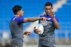 Malakai Fekitoa (left) and newbie Seta Tamanivalu both offer line-breaking dynamism for the midfield. Picture / Brett Phibbs