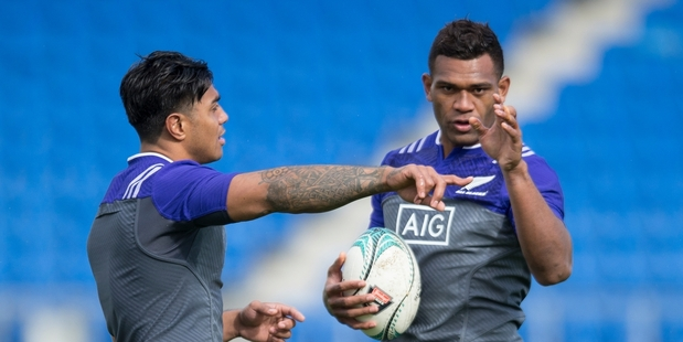 Loading Malakai Fekitoa (left) and newbie Seta Tamanivalu both offer line-breaking dynamism for the midfield. Picture / Brett Phibbs