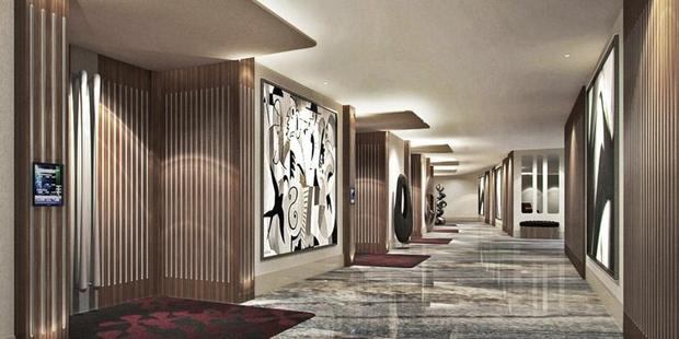 Set to open next week, the Watergate Hotel closed in 2007 for renovations that never happened because of financial problems. Photo / The Watergate Hotel