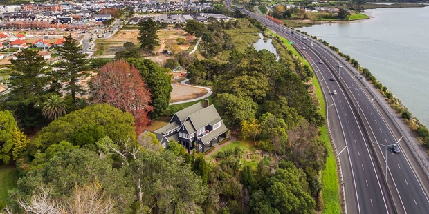 Mill House, which has breathtaking views across the Upper Waitemata Harbour, was valued at $1.69 million in 2014.