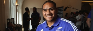 Ofa Tu'ungafasi says when he was growing up, there was always a rugby ball around at home. Photo / Getty Images