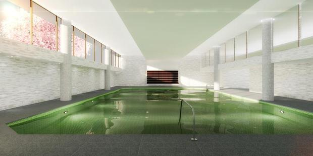 Guests of its 336 rooms and suites will have access to an indoor swimming pool, fitness facility and a spacious spa. Photo / The Watergate Hotel