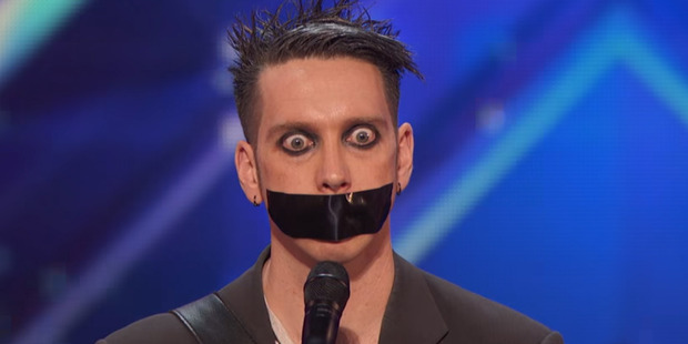 Loading New Zealand performer, The Boy With Tape on His Face, was a pleasant surprise for the judges on America's Got Talent.