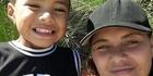 Emma-Jade Nathan with her 4-year-old Xaviah Nathan.