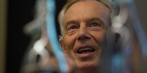 Former British Prime Minister Tony Blair. Photo / AP