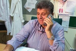 Dr Pietro Bartolo in Lampedusa. Photo / AP