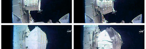 Astronauts slowly inflate balloon room at second attempt