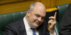 Economic Development Minister Steven Joyce compared the Labour-Green pact to the Bachelor. Photo / File