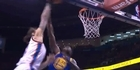Watch: Steven Adams dunks on Draymond Green