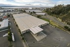 An aerial view of the huge property for sale in the Pandora industrial estate, near Napier's port.
