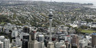 Aerial shot of Auckland CBD, New Zealand's financial hub. Photo / NZ Herald