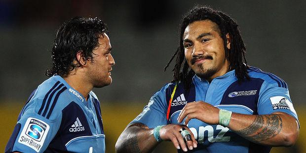 Piri Weepu and Ma'a Nonu were less than impressive for the Blues. Photo / Getty