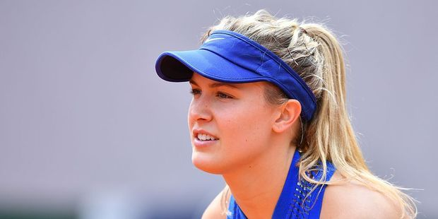 Canadian Tennis player Eugenie Bouchard received an awkward welcome at the Dutch border recently. Photo / Getty Images