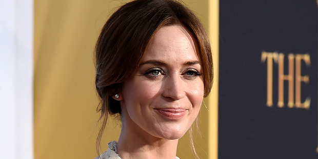 Emily Blunt will star as Mary Poppins. Photo / AP