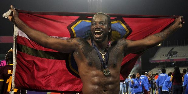 Chris Gayle, one of cricket's biggest personalities. Photo / Getty