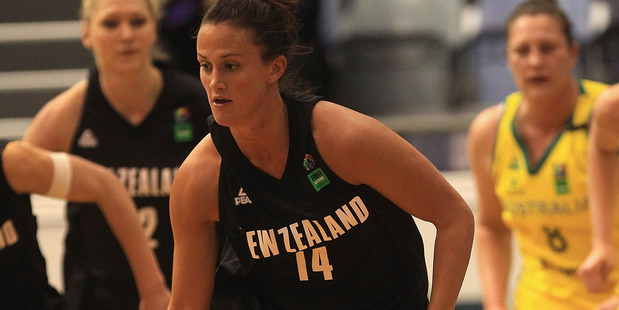 Jillian Harmon in action during a game against Australia. Photo / Getty Images