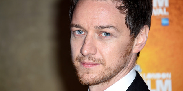 James McAvoy has walked away uninjured from the set of his latest movie after crashing a Porsche 911. Photo/Getty