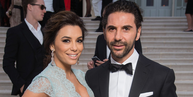 Actress Eva Longoria has ditched her diamond engagement ring from Jose Antonio Baston as it had too much detail. Photo / Getty Imahes
