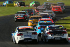 A general view of the start of race 13 at the ITM 500. Photo / Getty Images