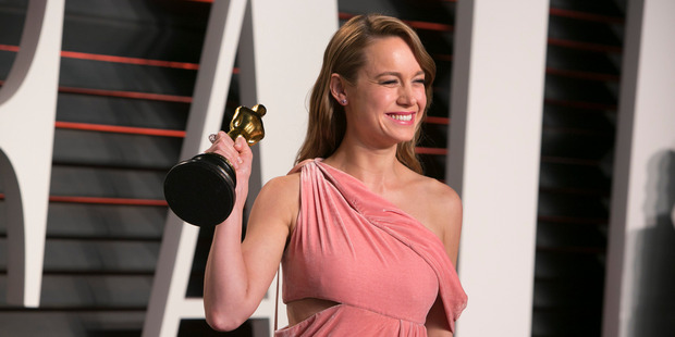 Brie Larson won an Oscar for best actress for her role in the movie Room. Photo / Getty Images
