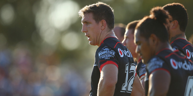 Loading Ryan Hoffman is one Warrior who has hit back about rumours of a split in the team. Photo / Getty