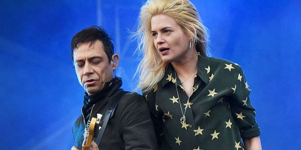 Jamie Hince and Alison Mosshart of The Kills. Photo . Getty Images