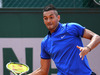 Nick Kyrgios in action at the French Open. Photo / Getty Images