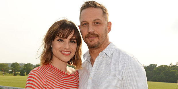 Charlotte Riley and Tom Hardy. Photo / Getty Images