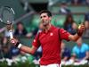 Novak Djokovic celebrates during the third round match against Aljaz Bedene. Photo / Getty Images