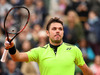 Stan Wawrinka celebrates victory against Viktor Troicki at the 2016 French Open. Photo / Getty Images