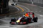 Daniel Ricciardo during the Monaco Formula One Grand Prix. Photo / Getty Images