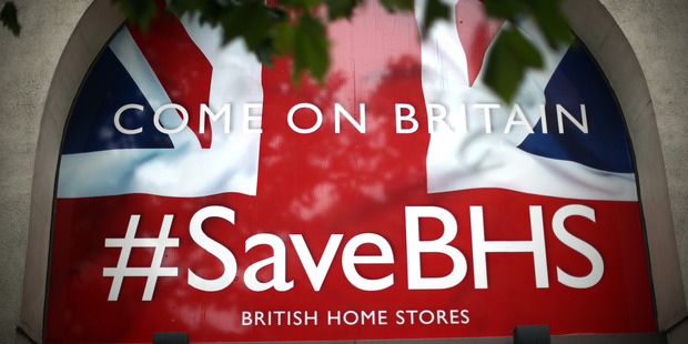 BHS administrators concluded their search for potential buyers. Photo / Getty Images