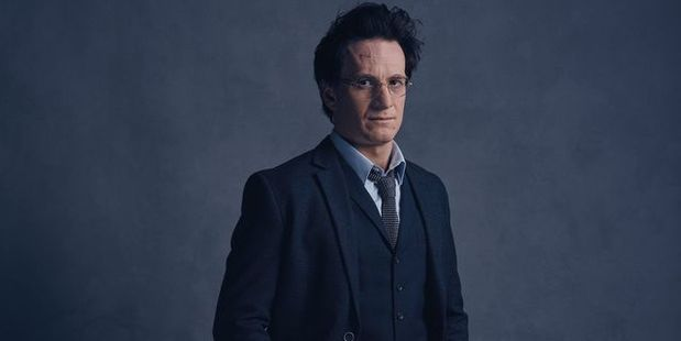 Jamie Parker dons the glasses, and scar, of Harry Potter.