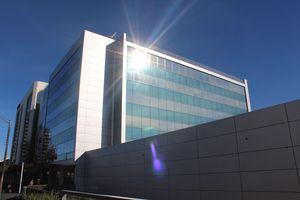 Hamilton's IRD building.