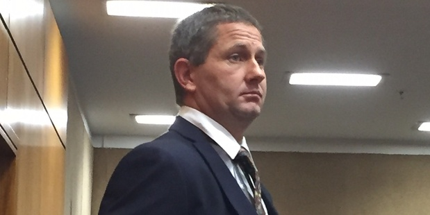 Shaun Murray Robert Innes, 39, was jailed for almost three years today. Photo / Newstalk ZB