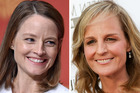 Jodie Foster has opened up about her likeness to Helen Hunt. Photo / AFP, AP