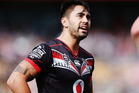 Warriors halfback Shaun Johnson knows his form is disappointing and admits media scrutiny and  criticism on social media gets to him in games. Photo / Getty Images.