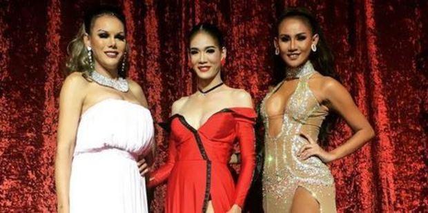 Lada, Olive and Jessie star in Thailand Ladyboy Superstars Cabaret. Photo / Instagram, _my_